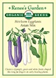 "Eggplant, ""Asian Mix"" Heirloom - Certified Organic Seeds Photo, bestseller 2018-2017 new, best price $3.79 review"