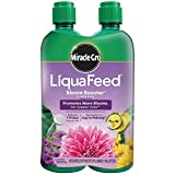 Miracle-Gro 100404 LiquaFeed Bloom Booster Flower Food, 4-Pack (Liquid Plant Fertilizer Specially Formulated for Flowers) Photo, bestseller 2019-2018 new, best price $24.42 review