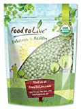Organic Green Peas (Sproutable, Kosher, Non-GMO, Raw, Dried) by Food to Live — 4 Pounds Photo, bestseller 2018-2017 new, best price $17.49 review