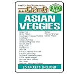 Asian Veggies Vegetable Seeds COMBO KIT - from Basil Thai to Winter Melon Seeds - By MySeeds.Co (Asian Veggies Kit) Photo, bestseller 2017-2016 new, best price $29.95 review