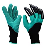 Lerdy Garden Genie Gloves with Fingertips Uniex Claws Quick & Easy to Dig and Plant Safe for Pruning (one pair) Photo, bestseller 2018-2017 new, best price $19.98 review