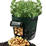 ASOON 2-Pack 7 Gallon Garden Potato Grow Bag Vegetables Planter Bags with Handles and Access Flap for Potato, Carrot & Onion Photo, bestseller 2018-2017 new, best price $22.99 review