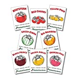 Rebel Gardens Heirloom Tomato Seeds Organic - 8 Varieties of Non Gmo Seed for Planting Photo, bestseller 2018-2017 new, best price $14.99 review