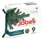 Jobe's Evergreen Fertilizer Spikes 11-3-4 Time Release Fertilizer for Juniper, Spruce, Cypress and All Other Evergreen Trees, 9 Spikes per Package Photo, bestseller 2018-2017 new, best price $7.99 review