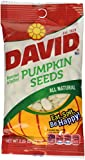 David All Natural Roasted & Salted Pumpkin Seeds 2.25 oz Photo, bestseller 2018-2017 new, best price $4.88 review