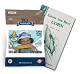 Sweetest Corn Seed Collection, 4 Variety Pack of Non-GMO Sweet Corn Seeds, Bodacious, Early Xtra Sweet, Peaches & Cream and Kandy Corn by Sustainable Seed Photo, bestseller 2018-2017 new, best price $13.99 review