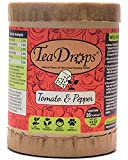 TeaDrops Premium TOMATO + PEPPER Organic Vegetable Fertilizer (16 Packets, Makes Indoor & Outdoor Liquid Garden Plant Food for Healthy Leaf & Root Growth / Maximizing Flower Production) Photo, bestseller 2018-2017 new, best price $39.99 review