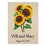 Set of 25 Personalized Seed Packet Favors