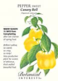 Sweet Canary Yellow Bell Pepper Seeds - 400 mg Photo, bestseller 2017-2016 new, best price $1.79 review