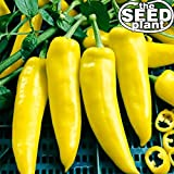 Hungarian Wax Hot Pepper Seeds - 200 Seeds Non-GMO Photo, bestseller 2018-2017 new, best price $1.95 review