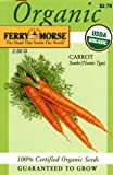 Ferry-Morse Organic Carrot Scarlet Nantes Type Seeds Photo, bestseller 2018-2017 new, best price $6.99 review