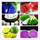 2017 Watermelon seeds 50pcs fruit vegetable seeds Garden Home plant Blue Yellow Green Watermelon Purple Photo, bestseller 2018-2017 new, best price $5.49 review