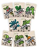 Vegetable Seeds Heirloom SillySeed Collection - 100% Non GMO. Veggie Garden Variety Pack: Tomato, Cucumber, Lettuce, Kale, Radish, Peas, Carrot, Jalapeno Pepper Photo, bestseller 2018-2017 new, best price $15.95 review
