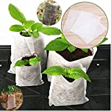 sunshopping 300pcs Degradable Non-Woven Fabric Plants Growing Grow Bags Seeding Nursing Raising Bed Pots Plants Pouch Home Garden Supply (3 size) Photo, bestseller 2018-2017 new, best price $8.99 review
