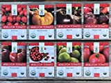 Heirloom Tomato Seeds Assortment - Eight Organic and Non-GMO Varieties: Brandywine, Cherokee Purple, Black Krim, Green Zebra, Amish Paste, Moskvich, Yellow Brandywine, Matt's Wild Cherry Photo, bestseller 2018-2017 new, best price $15.97 review