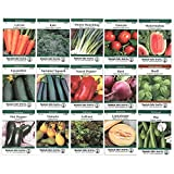 Heirloom Vegetable Garden Seed Collection – Assortment of 15 Non-GMO, Easy Grow, Gardening Seeds: Carrot, Onion, Tomato, Pea, More Photo, bestseller 2018-2017 new, best price $19.99 review